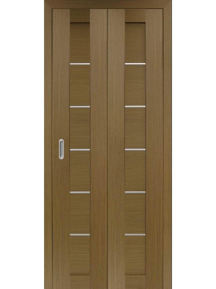 "Дверь-книжка Оптима Порте ""апп 501.1"" глухая (алюм. молдинги)"