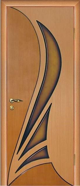 "Дверь шпонированная ""Мадрид"" шпон дуба глухая, Мариам"