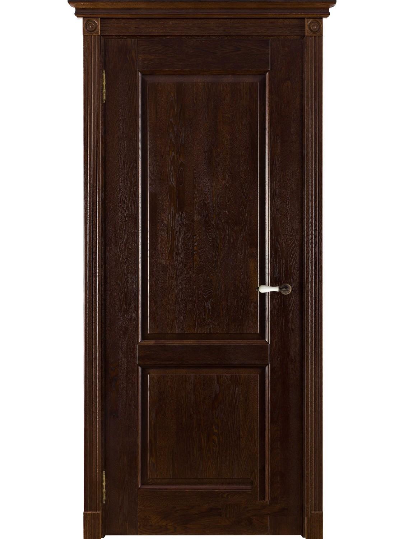 """Дверь массив дуба """"Селена"""" (брашированная, калёвочная), """"ОКА Массив"""" (Беларусь)"""