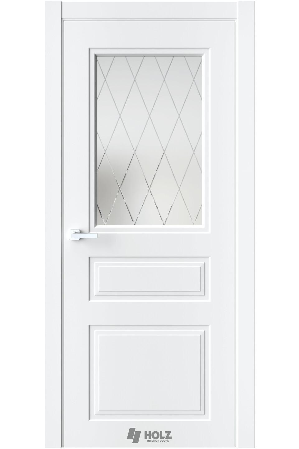 """Дверь экошпон антивандальный """"SE 8"""" остекленная, QUESTDOORS"""