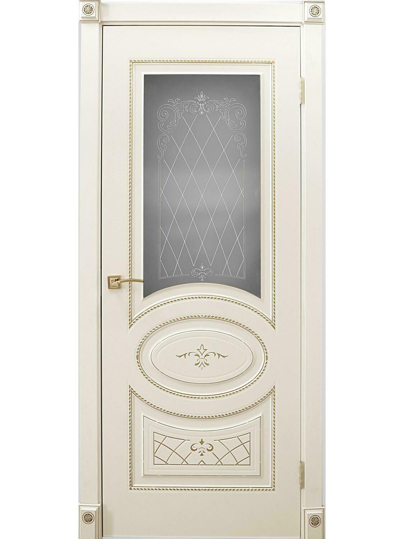 """Дверь эмаль """"Марго"""", Левша"""