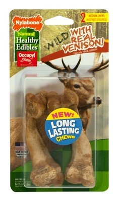 Healthy Edibles Wild Venison Bone Medium 2 ct
