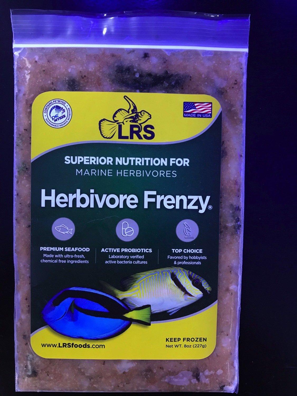 LRS Herbivore Frenzy  (8oz frozen flatpack) IN STORE PICKUP