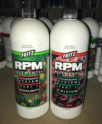 Fritz RPM Elements Calcium/ Buffer System Pt. 1-Alkalinity
