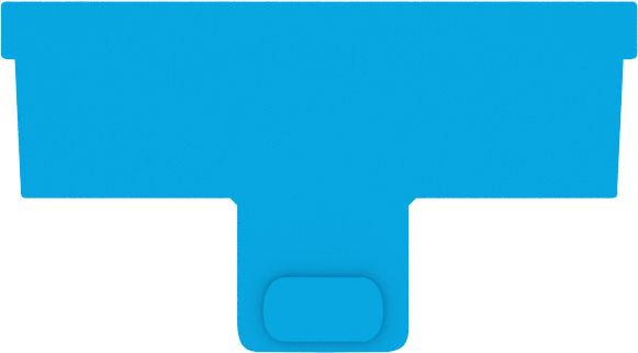 Continuum AquaBlade P Acrylic Blade 3pk