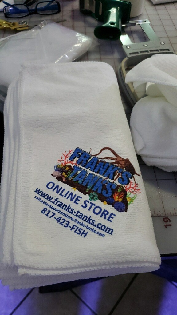 Frank's Tanks Aquarium Cleaning Microtowel