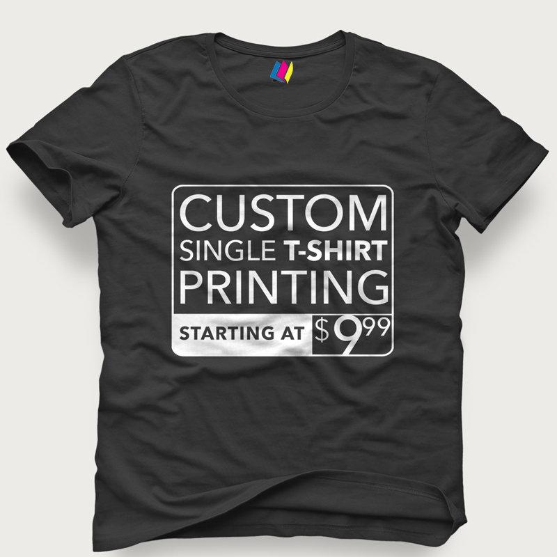 Black T-Shirt TEE002