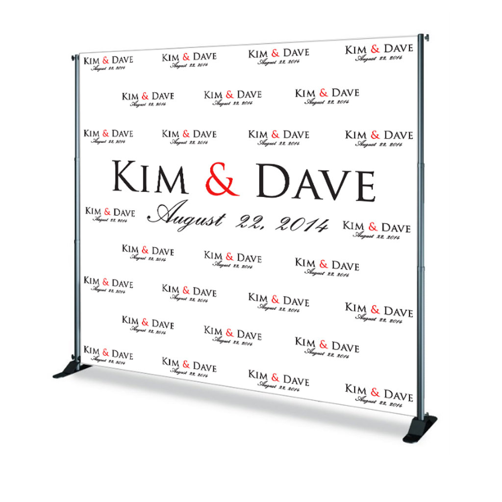 Step & Repeat Banner SR00001