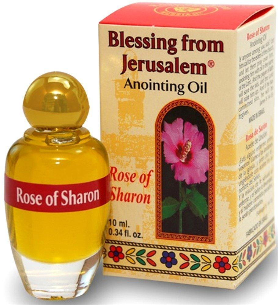 (Rose of Sharon) Biblically Inspired Jerusalem Anointing oil - 10 ml. 00017