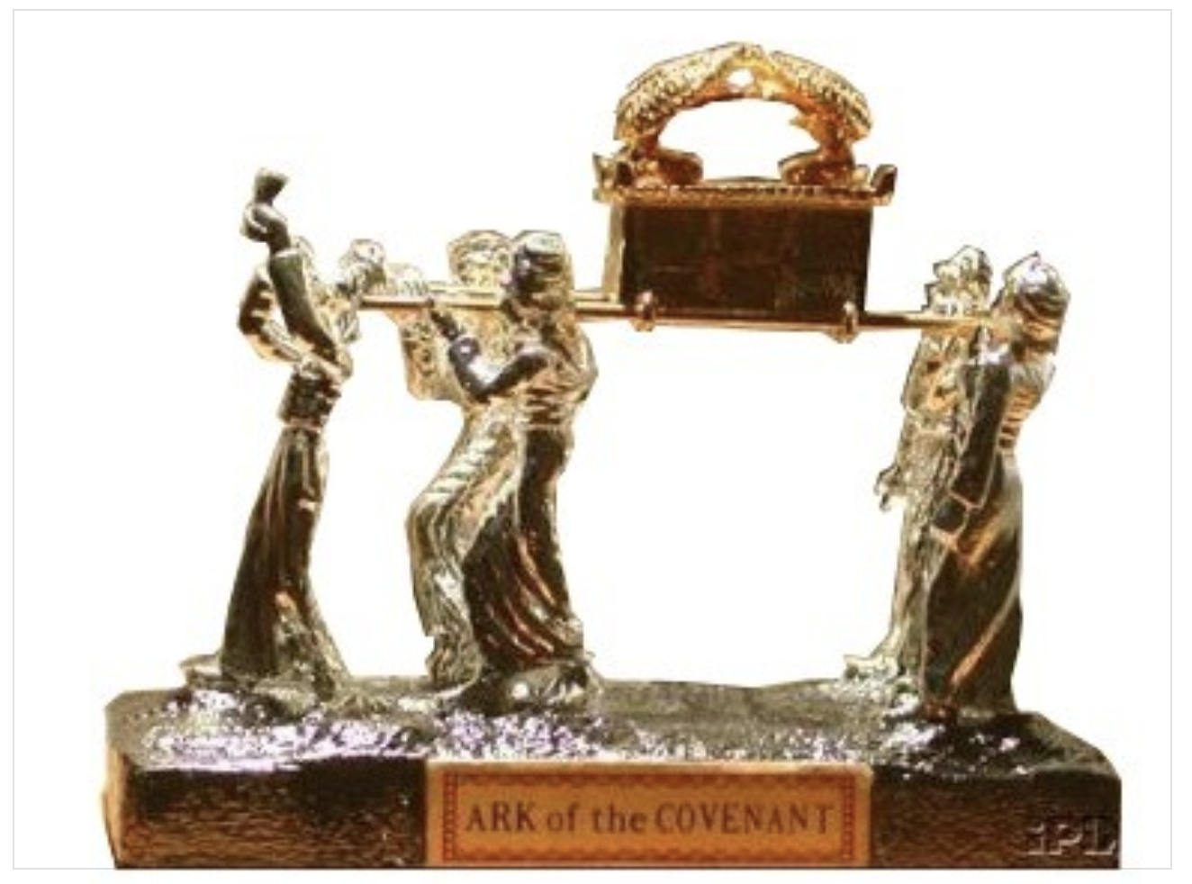 Ark of the Covenant Silver-Plated 00022