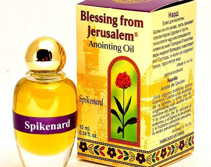 (Spikenard) Biblically Inspired Jerusalem Anointing oil - 10 ml. 00036