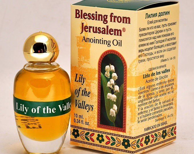 (Lily of the Valleys) Biblically Inspired Jerusalem Anointing oil - 10 ml. 00039