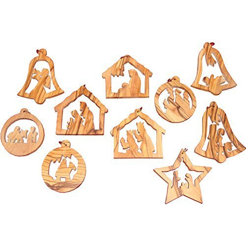 Christmas Tree Ornaments Sets 6.5cm to 8.5cm 1001