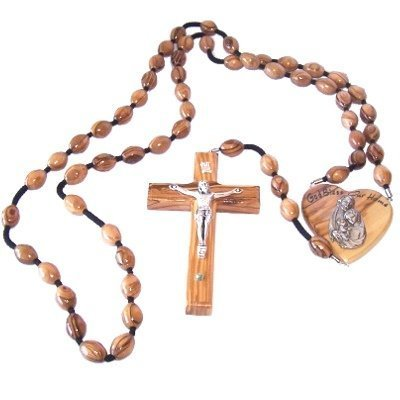 Olive Wood Wall Hanging Rosary