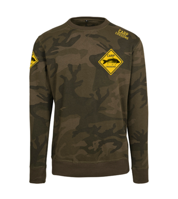 Carpcrossing Classic Camo Sweater