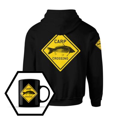 Carpcrossing Classic Hoodie + Free Coffee Mug