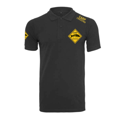 Carpcrossing Classic Polo Black