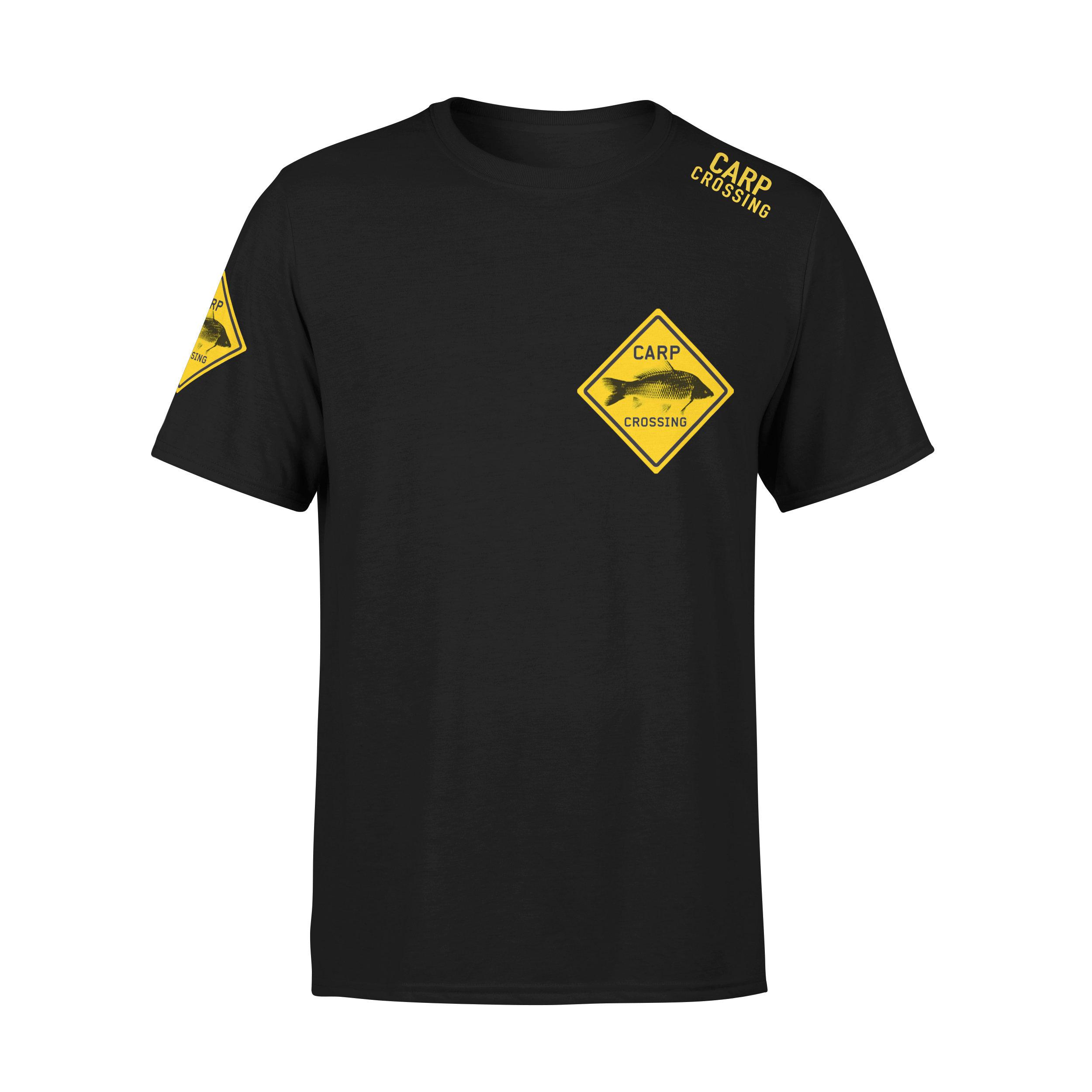 Carpcrossing Classic Carp T-shirt Black Kids CC00022
