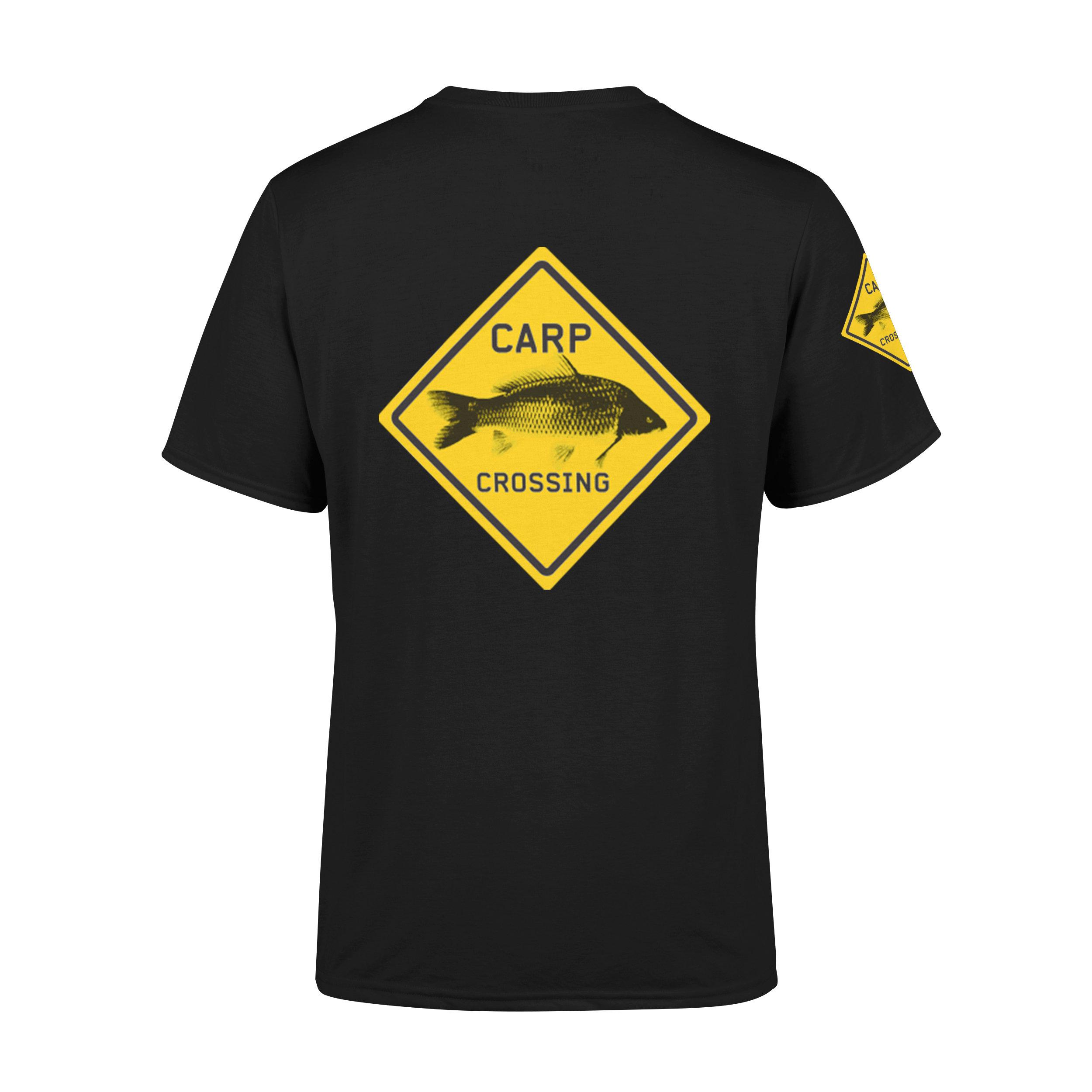 Carpcrossing Classic Carp T-shirt Black Kids