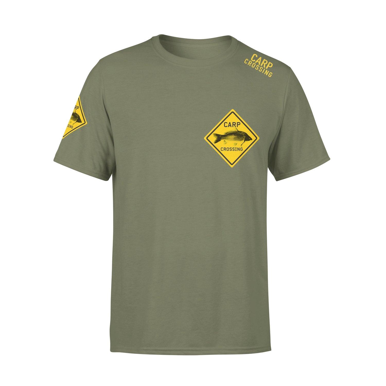 Carpcrossing Classic Carp T-shirt Green