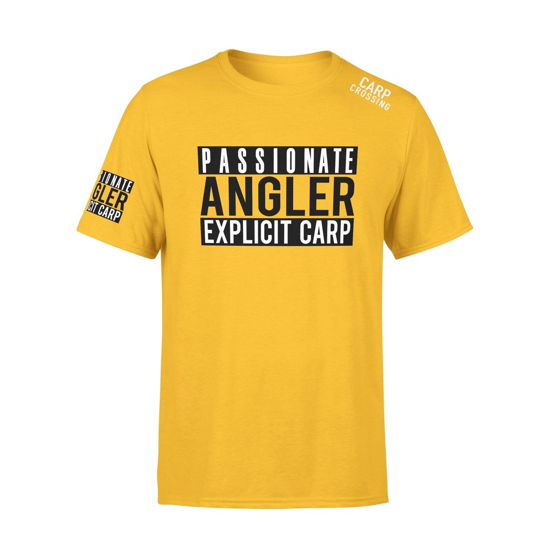 Carpcrossing Explicit Carp T-Shirt Yellow
