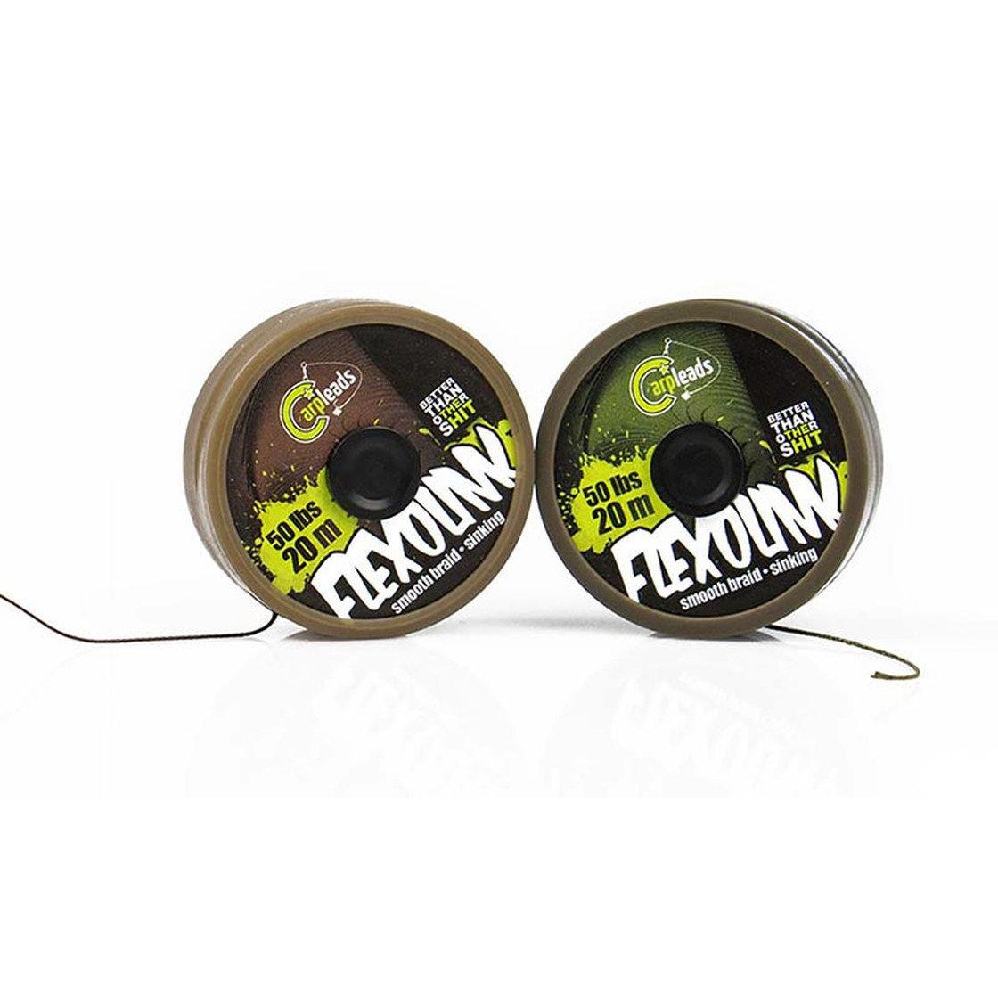 Flexolink 50lbs 20m green / brown cl00014