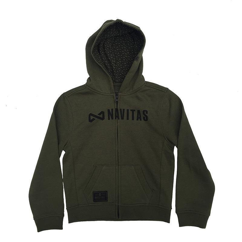 Navitas Core Kids Hoody Core Green