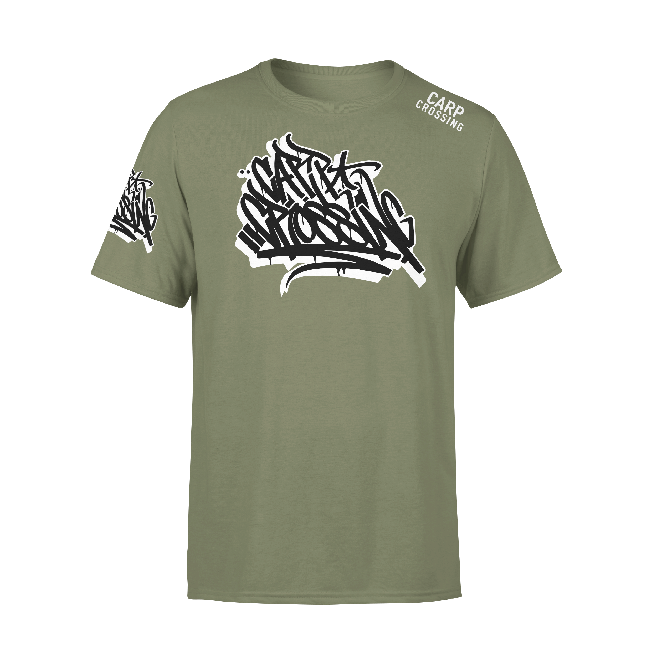 Carpcrossing Urban Carp T-Shirt Green ccurban3