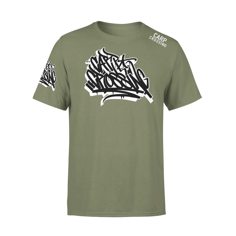 Carpcrossing Urban Carp T-Shirt Green