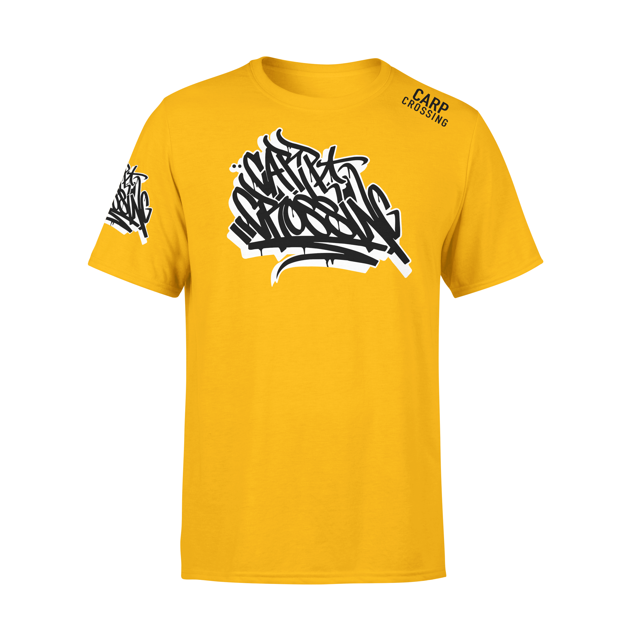 Carpcrossing Urban Carp T-Shirt Yellow ccurban4
