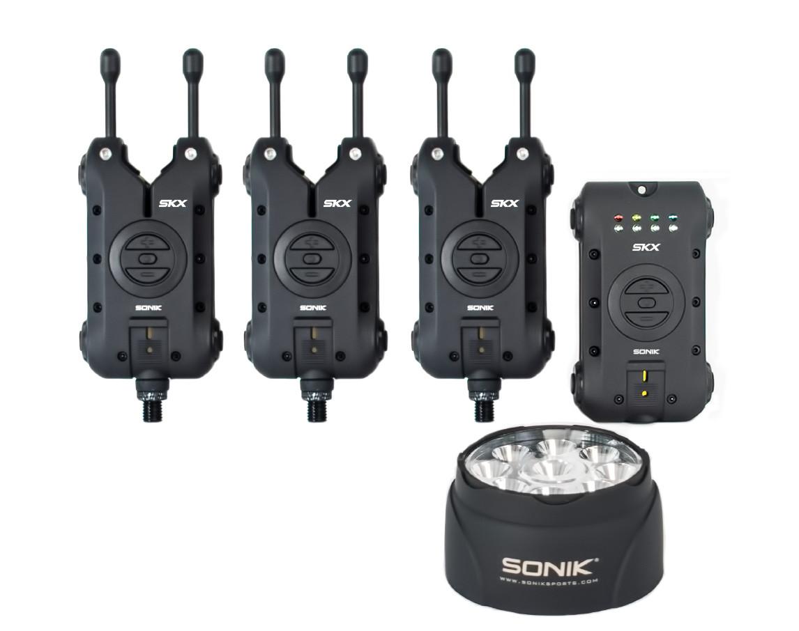 Sonik SKX Alarm & Receiver set + Bivvylight