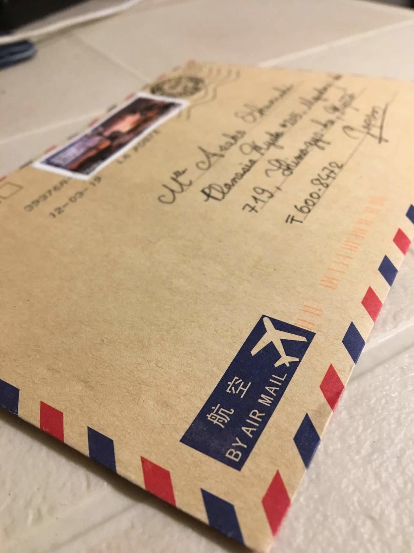 フランス・ボルドーからのポストカード