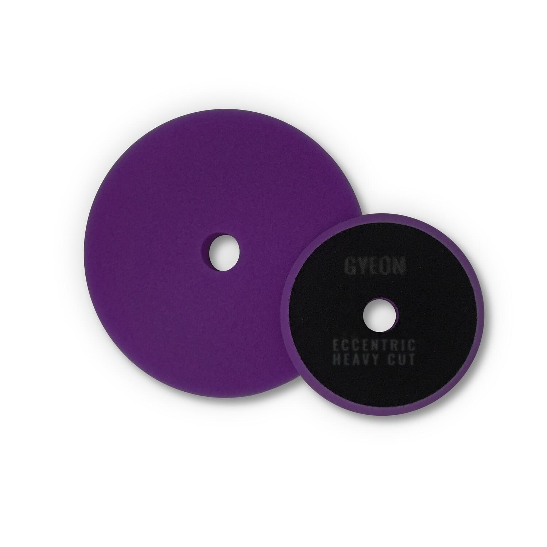 GYEON ECCENTRIC HEAVY CUT (80мм) Твердый фиолетовый полировальный круг (2шт)