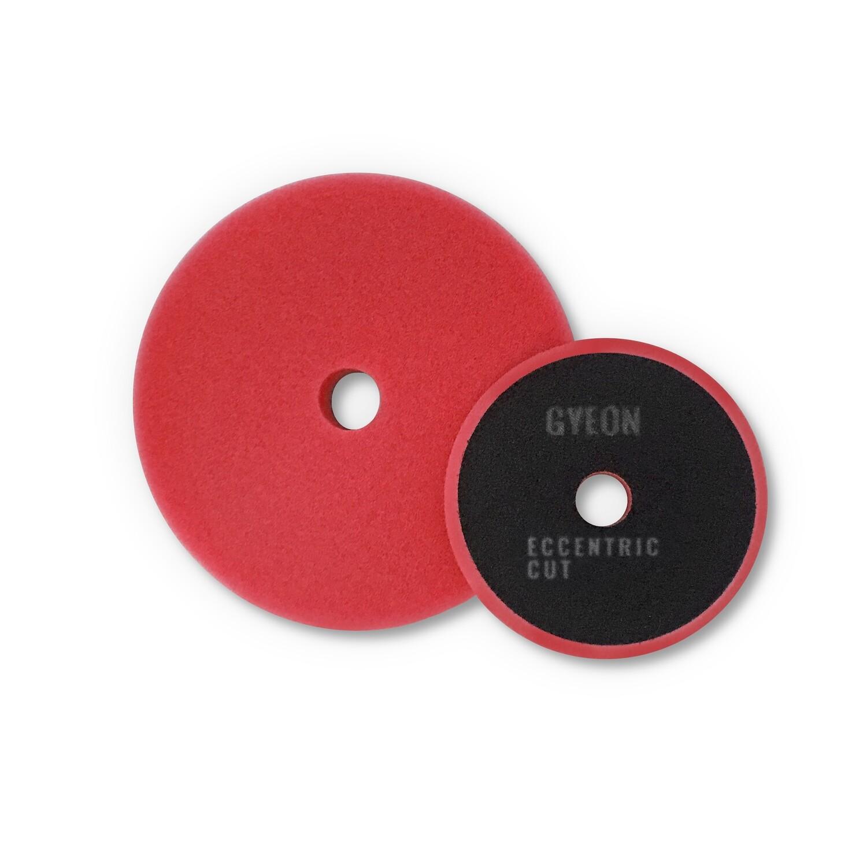 Полировальный круг Средней твердости GYEON ECCENTRIC CUT Поролоновый Красный комплект (80мм х2)