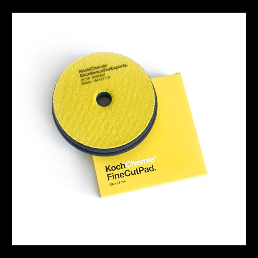 Полировальный круг Средней твердости Koch Chemie FINE CUT PAD (150мм) Желтый