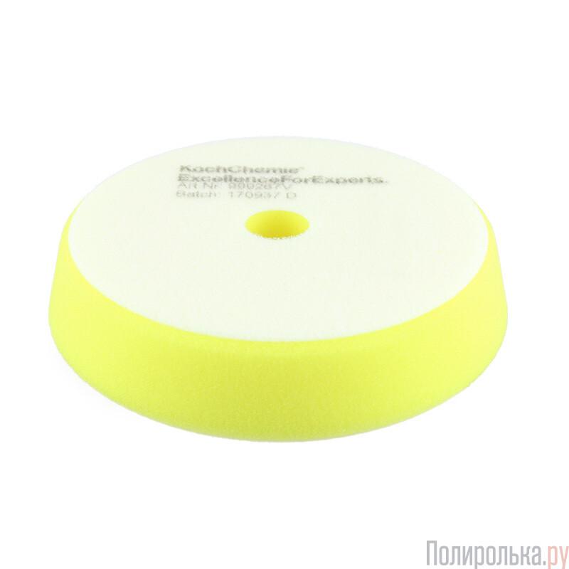 Koch Chemie Желтый Средней твердости (160мм) полировальный круг