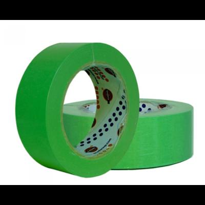 Малярный скотч лента EUROCEL Зеленый (30 мм х 40м)