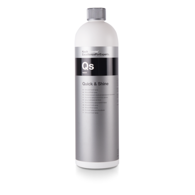 Koch Chemie Qs QUICK & SHINE (1л) Универсальное средство для быстрого ухода за элементами экстерьера