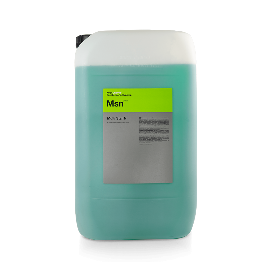 Активная пена для бесконтактной мойки Koch Chemie Msn MULTI STAR N (33л)