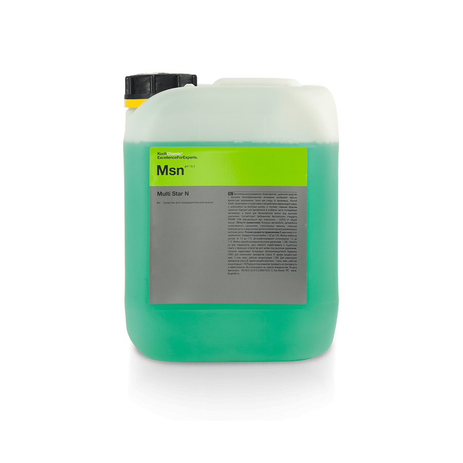 Koch Chemie Msn MULTI STAR N (5л) Активная пена для бесконтактной мойки
