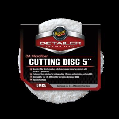 Meguiar's CUTTING DISC 5 (140мм) Микрофибровый Режущий Полировальный круг (2шт)