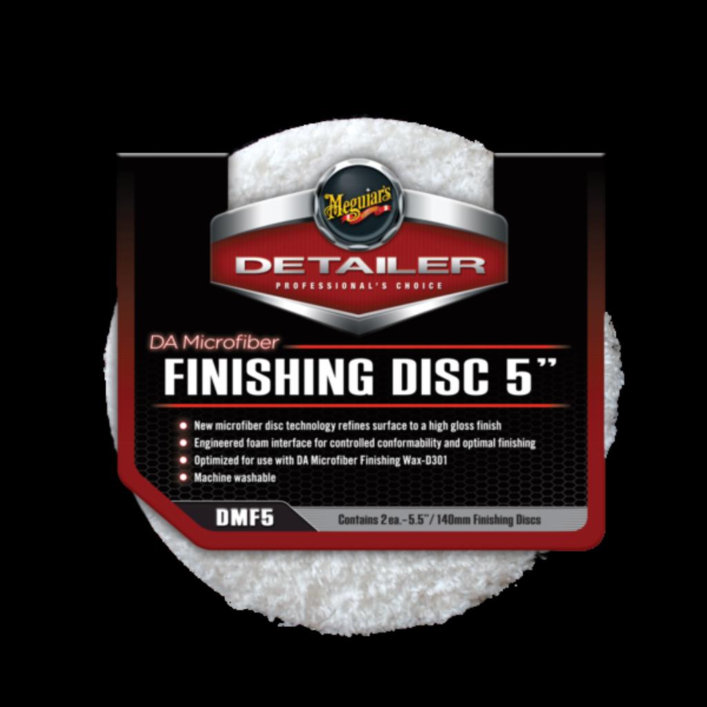 Микрофибровый Полировальный круг Финишный Meguiars FINISHING DISC 5 (140мм) Комплект (2шт)