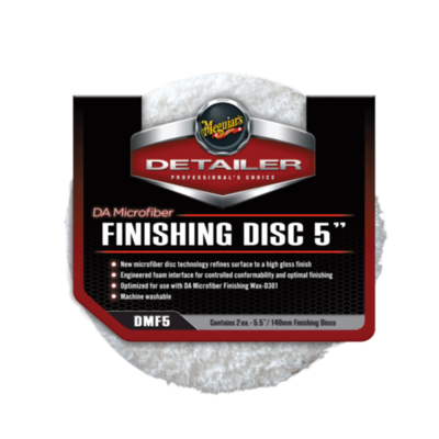 Meguiar's FINISHING DISC 5 (140мм) Микрофибровый Финишный Полировальный круг (2шт)