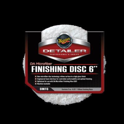 Meguiar's FINISHING DISC 6 (159мм) Микрофибровый Финишный Полировальный круг (2шт)