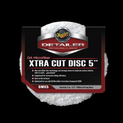 Meguiar's XTRA CUT DISC 5 (140мм) Микрофибровый Экстра Режущий Полировальный круг (2шт)