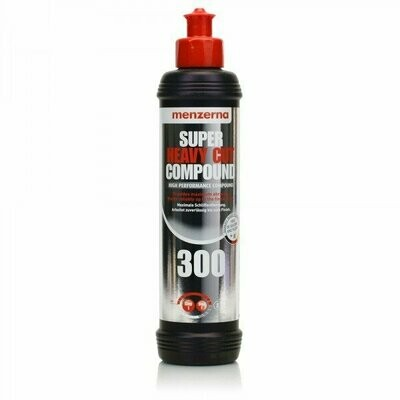 Полировальная паста Высокоабразивная MENZERNA 300 SUPER HEAVY CUT (250мл)