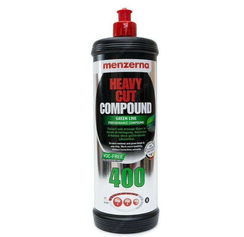Полировальная паста Высокоабразивная MENZERNA 400 GREEN LINE HEAVY CUT (1л)
