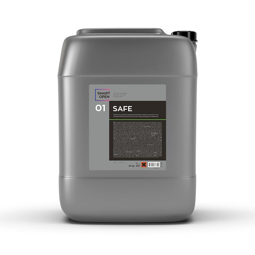 Бесконтактный автошампунь с защитой хрома и алюминия Smart Open 01 SAFE (20л)