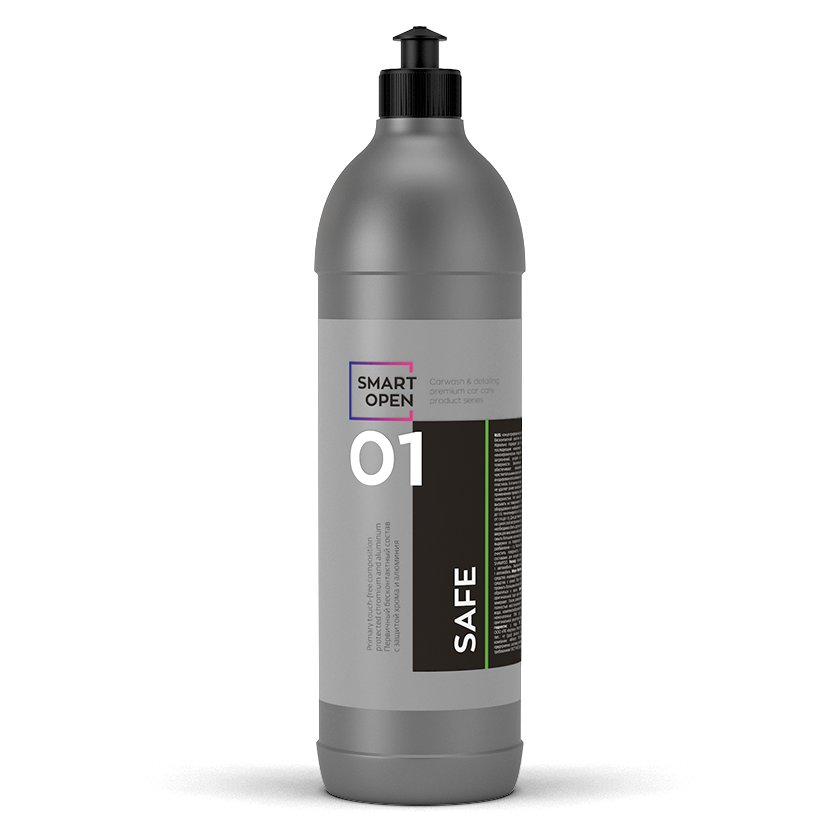 Smart Open 01 SAFE (1л) Бесконтактный шампунь с защитой хрома и алюминия