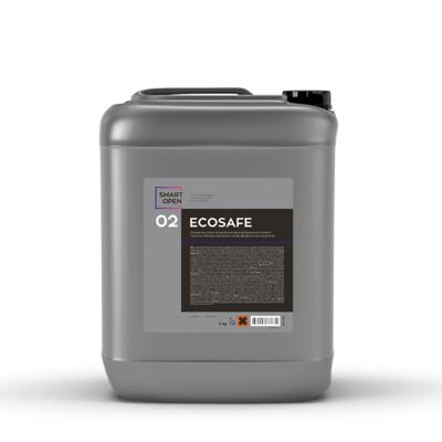 Нейтральный бесконтактный шампунь без фосфата и растворителей Smart Open 02 ECOSAFE (5л)